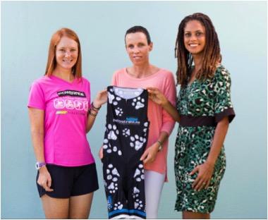 She's the PFI Winner Already: Hope's High Hopes for Athletes and Animals at Potcakeman Triathlon